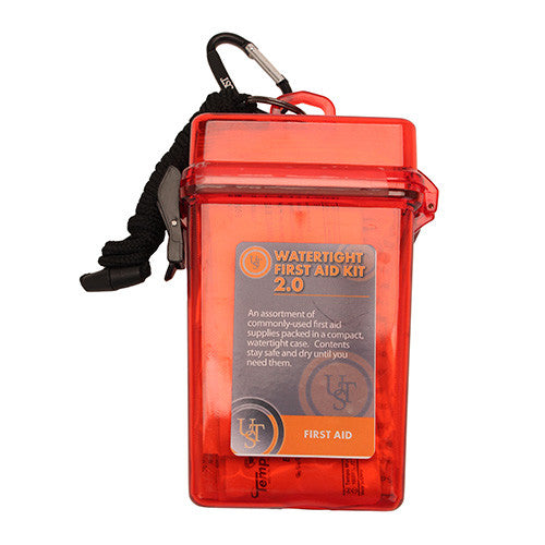 Watertight First Aid Kit 2.0, Red - GhillieSuitShop