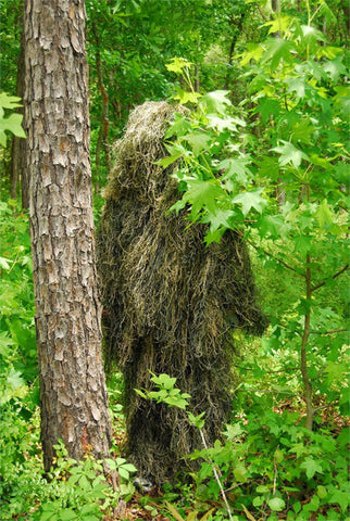 USA Made Ultra Light Woodland Ghillie Suit