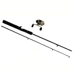 "33MICRO 4'6"" 2PC UL SPINCAST PKG COMBO for Fishing - GhillieSuitShop"