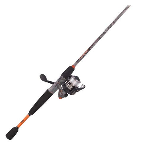 CAMO 20SZ 6' 2PC MED SPIN COMBO for Fishing - GhillieSuitShop