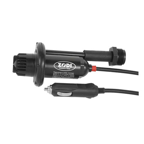 12V Pump w/12V Plug and Wash Down Hose - GhillieSuitShop
