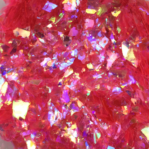 Magical Girl - Mylar Flakes - Hot Pink 10g, Mylar flakes- Lumin's Workshop