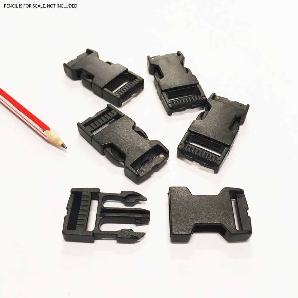 Quick Release Buckle - Medium - Pack of 5 (48mm x 28mm), Plastic buckles- Lumin's Workshop