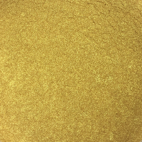 Alchemy - Pearl Mica Pigment Powders - Yellow Gold, mica- Lumin's Workshop