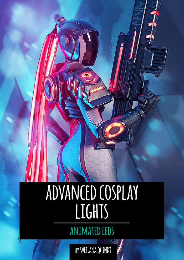 Advanced Cosplay Lights - Print Version - By Kamui Cosplay, books- Lumin's Workshop