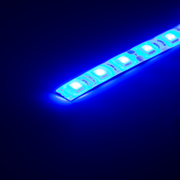 12V LED Strip - Blue (1m), LEDS- Lumin's Workshop