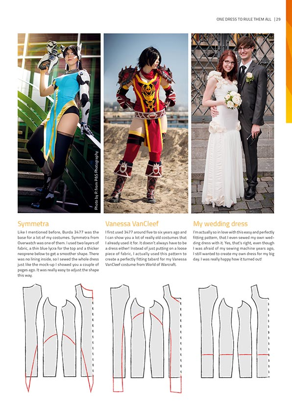 The Book of Cosplay Sewing – Print Version - By Kamui Cosplay, books- Lumin's Workshop