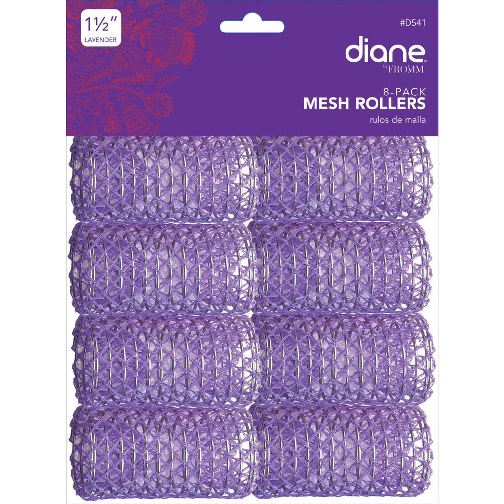 "1 1/2"" Mesh Rollers 8ct, Wig Accessories- Lumin's Workshop"