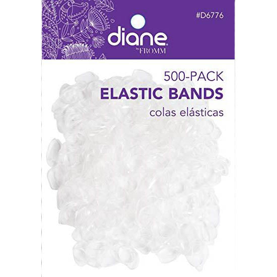 Tiny Hair  Elastics CLEAR 500 pack, Wig Accessories- Lumin's Workshop
