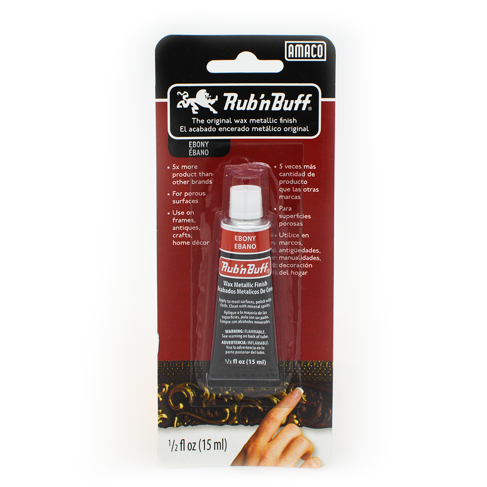Rub 'n' Buff Metallic Wax - 15mL, Paint- Lumin's Workshop