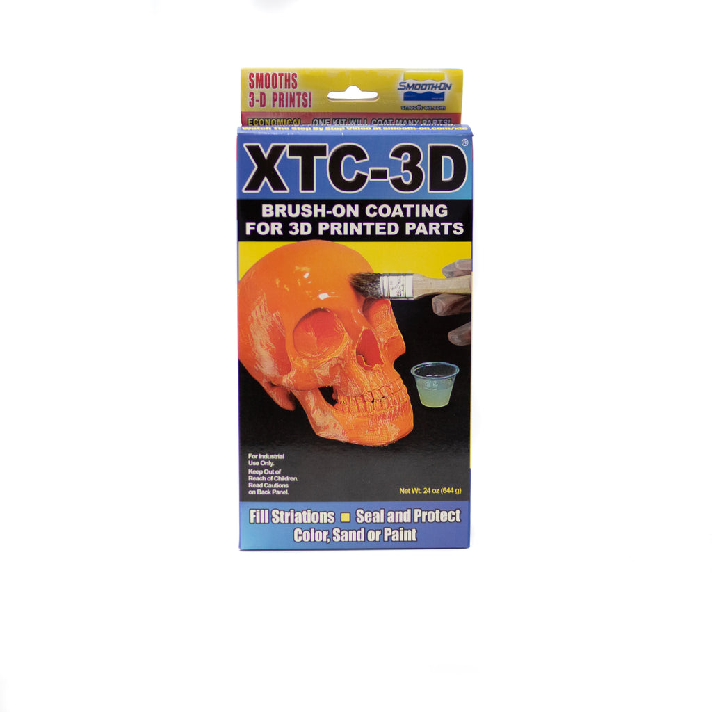 XTC 3D - Brush on coating for 3D printed parts - 644gm, Clear epoxy Resin- Lumin's Workshop