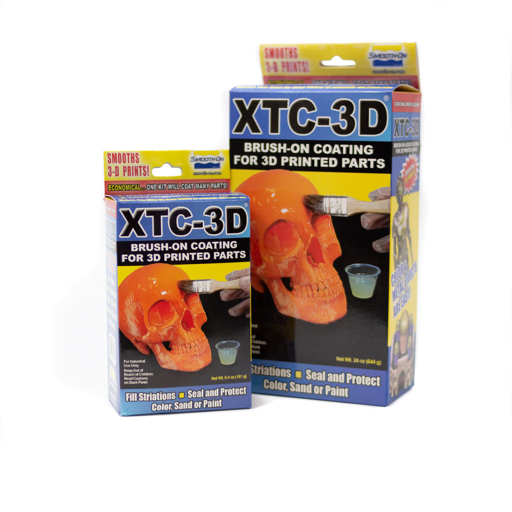 XTC 3D - Brush on coating for 3D printed parts - 181g, Clear epoxy Resin- Lumin's Workshop