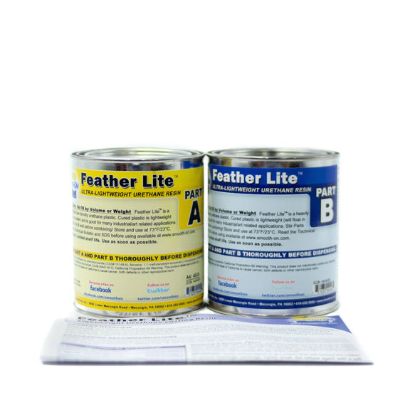 Feather Lite - Trial Kit (1.14kg), resin- Lumin's Workshop