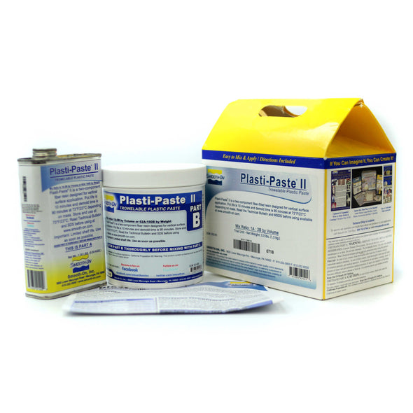 Plasti Paste II Trial Kit (1.55kg), resin- Lumin's Workshop