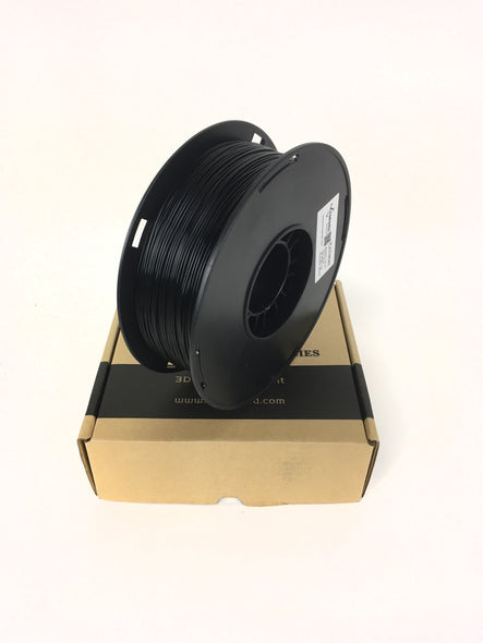 Torwell PLA 3D Printing Filament - Black 1.75mm, filament- Lumin's Workshop