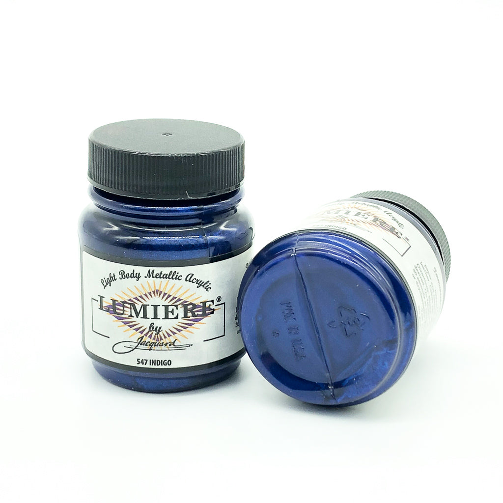 Lumiere Metallic Acrylic Paint - 70mL (32 Colours Available), Paint- Lumin's Workshop