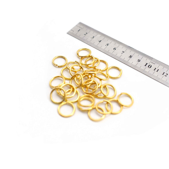 Jump Rings - 16mm - Gold - 50g (Approx. 45 Rings)