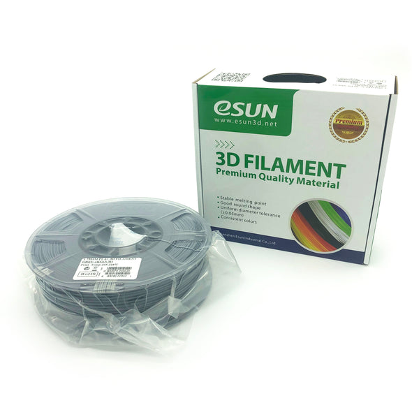eSun PLA+ 1.75mm 1kg Roll - Grey, filament- Lumin's Workshop