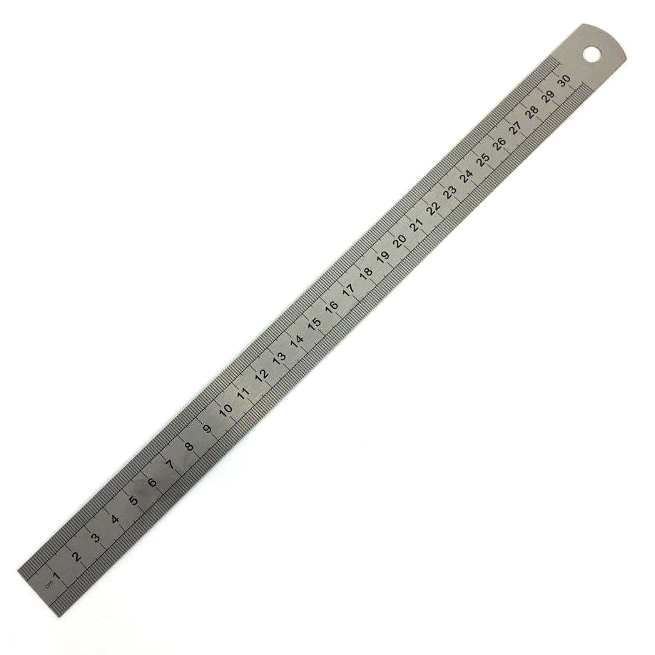 Steel Ruler 30cm Lumins Workshop