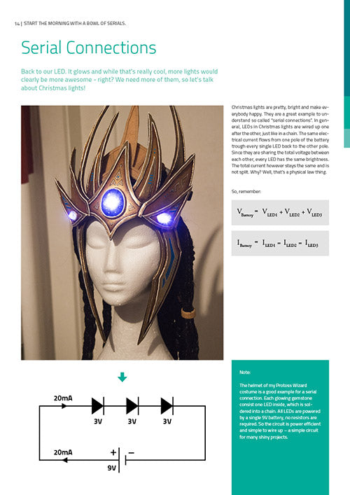 Book of Cosplay Lights - Print Version - By Kamui Cosplay, books- Lumin's Workshop