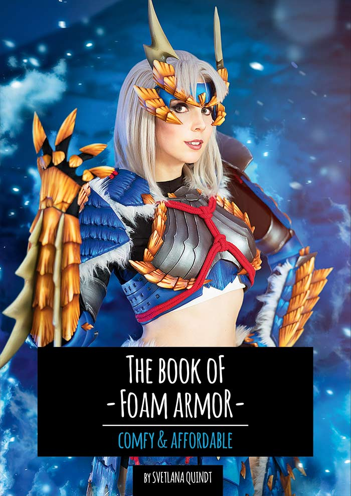 The Book of Foam Armour - Print Version - By Kamui Cosplay, books- Lumin's Workshop