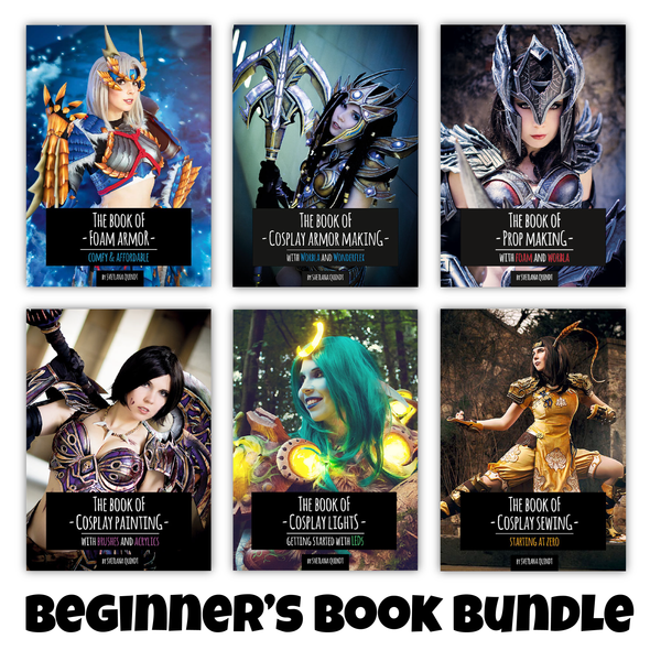 Beginner's Book Bundle - Cosplay Making Book Bundle, Bundle- Lumin's Workshop