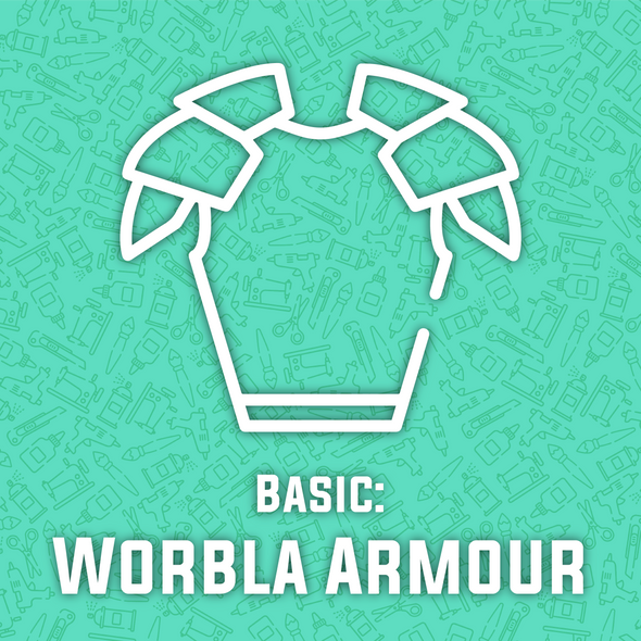 Worbla Armour Making Basics Workshop (Includes $25 in materials), workshop/class- Lumin's Workshop
