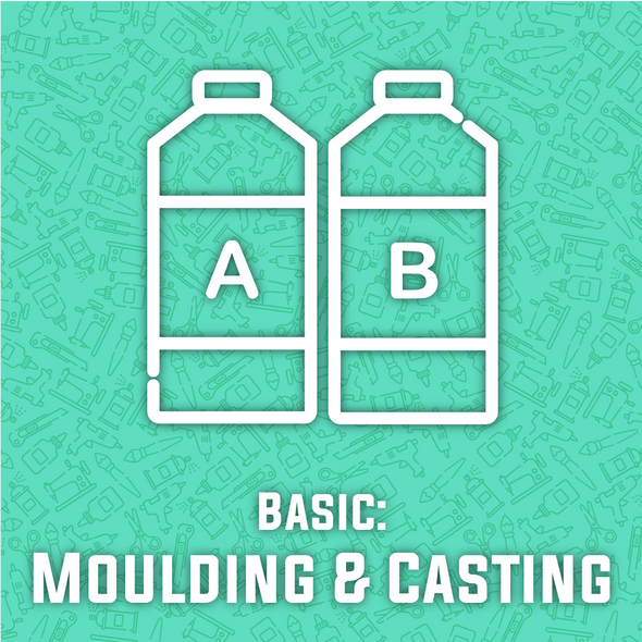 Silicone Moulding and Resin Casting Basics Workshop (includes $70 of materials), workshop/class- Lumin's Workshop