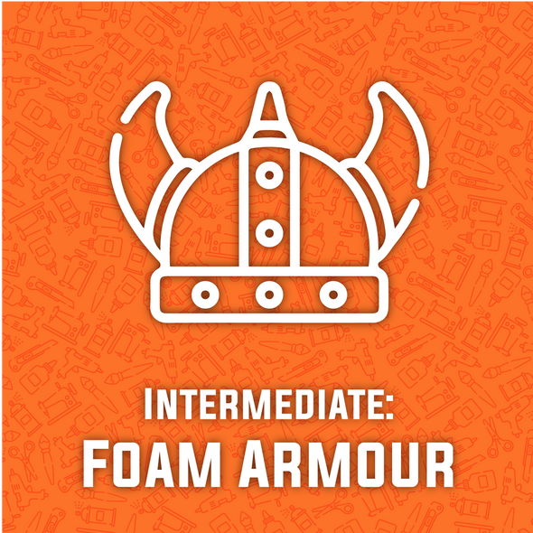 Intermediate Foam Armour Making Workshop - COMING SOON, workshop/class- Lumin's Workshop
