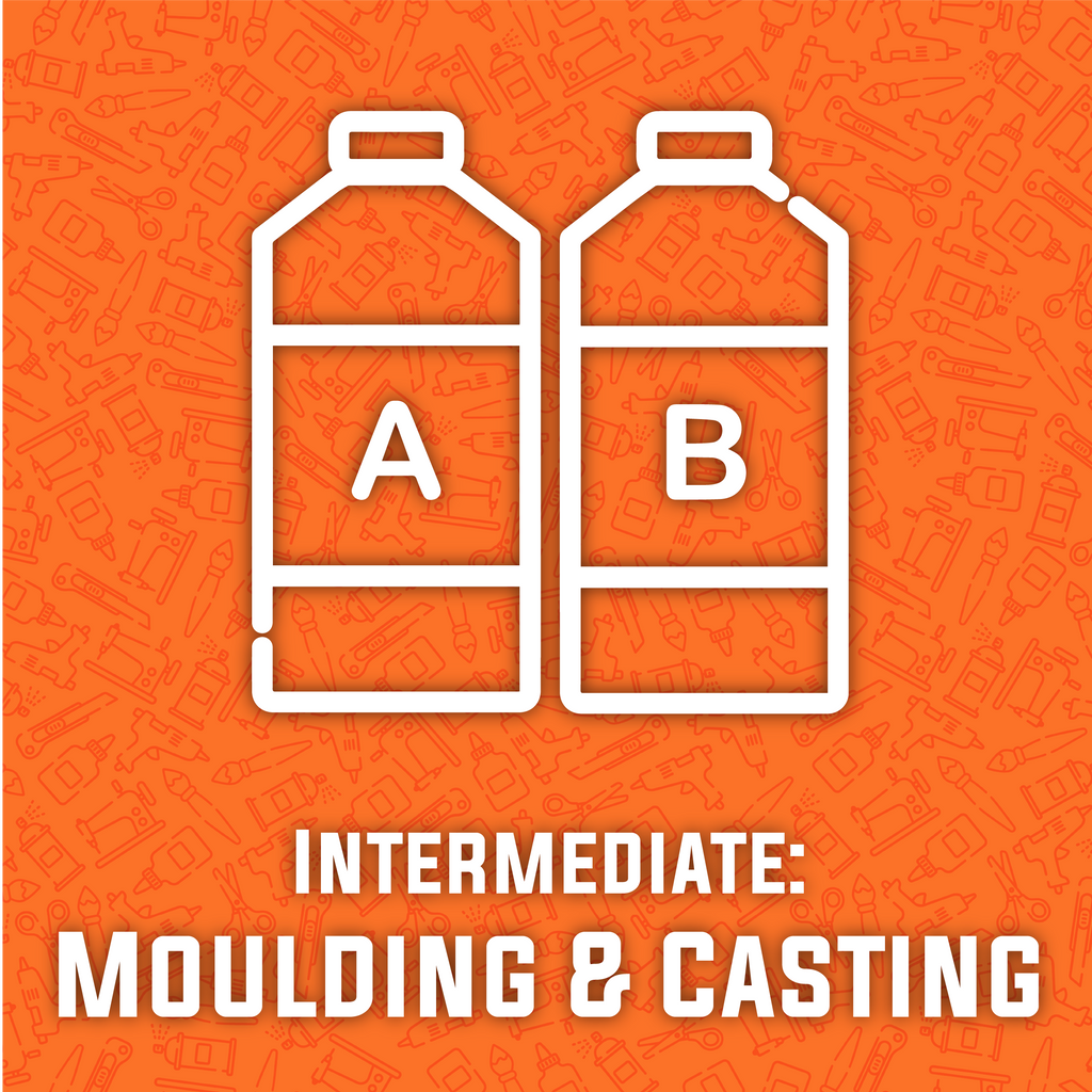 Intermediate Silicone Moulding and Resin Casting Workshop (COMING SOON), workshop/class- Lumin's Workshop