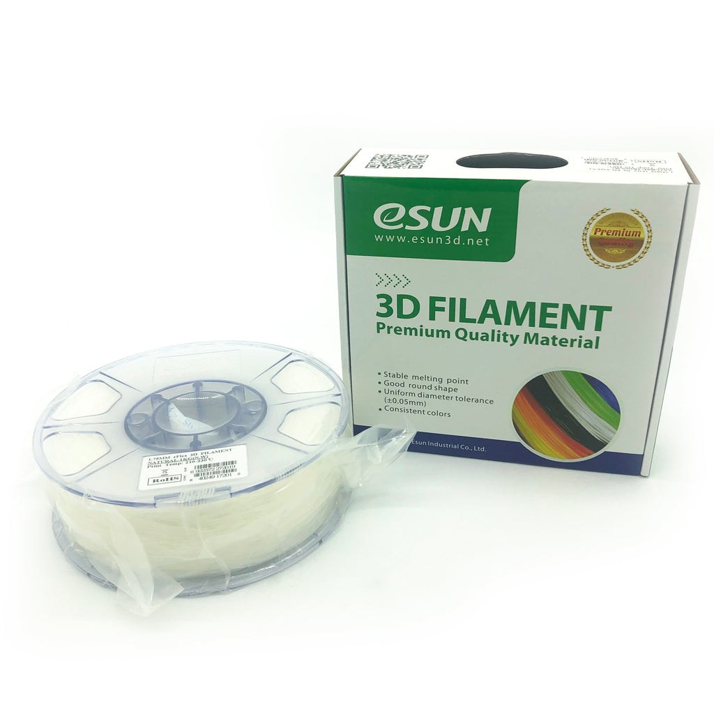 eSun eFlex 1.75mm 1kg Roll - Natural, filament- Lumin's Workshop