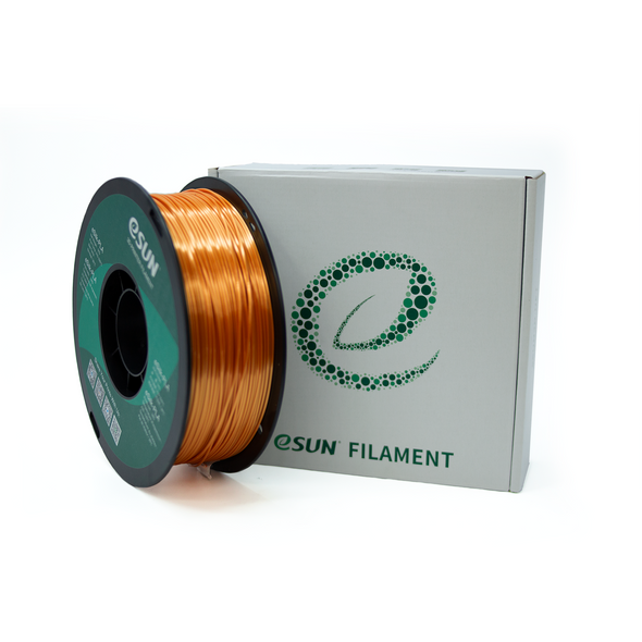 eSun Silk PLA 1.75mm 1kg Roll - Copper, filament- Lumin's Workshop