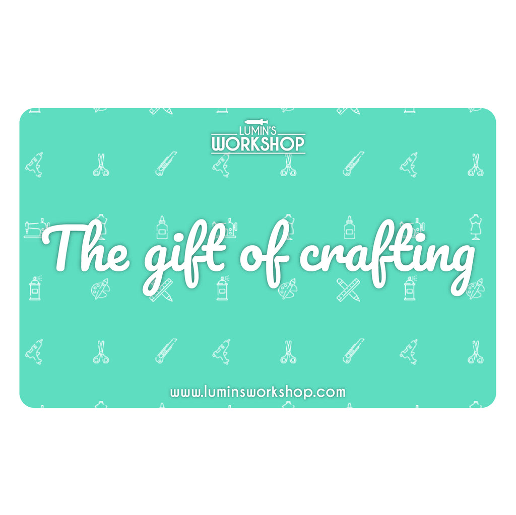 E-Gift Card, Gift Card- Lumin's Workshop