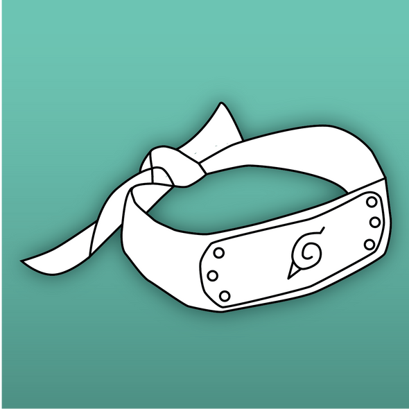 Ninja Head Band Template / Bundle, Template- Lumin's Workshop