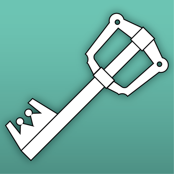 Chibi Key Blade Template / Bundle, Template- Lumin's Workshop