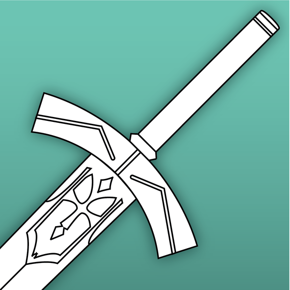 Excalibur Sword Template / Bundle, Template- Lumin's Workshop
