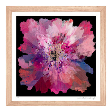 Ruby Orchid Extra Small framed limited edition print