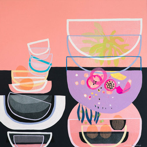 Still Life with Passionfruit - limited edition print - unframed