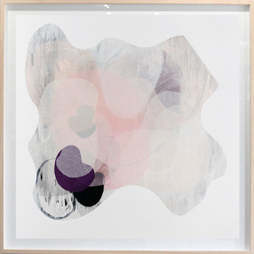 Ossein - limited edition print - framed in blonde oak
