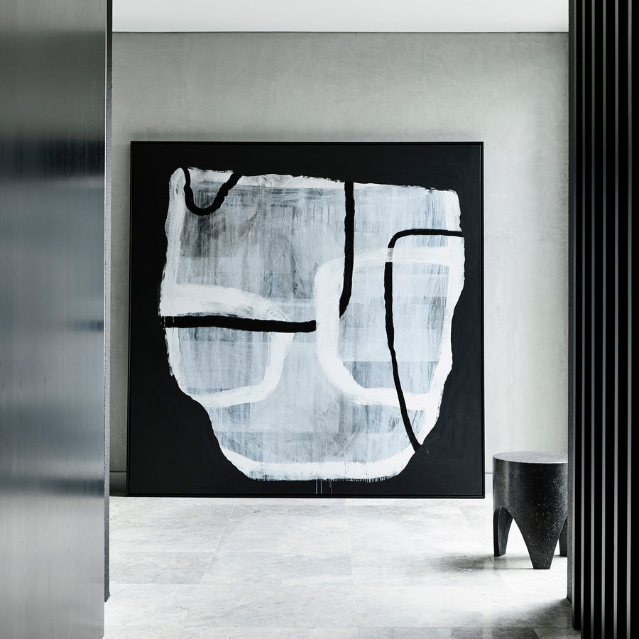 Vessel in Monochrome   (Available at Fenton & Fenton, Prahran)