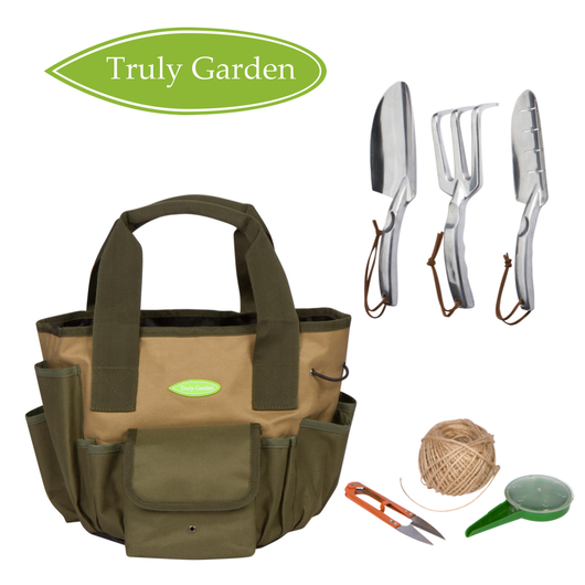 2 Gallon Bucket Organizer with Garden Tools