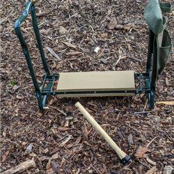 Kneeler/Seat with Cultivator Hoe
