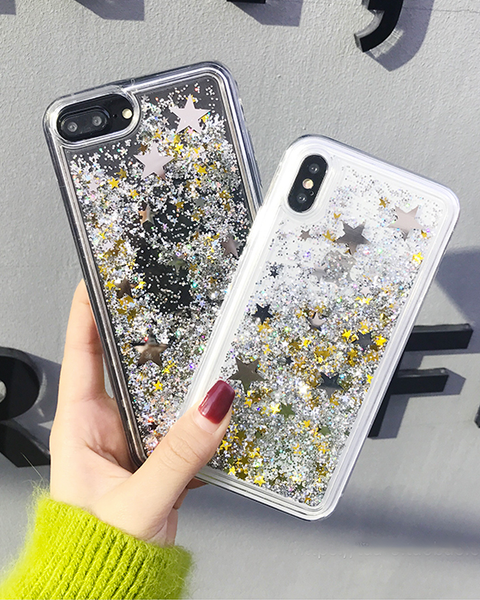 Glittery Star Iphone Case - MAGIC PERIOD