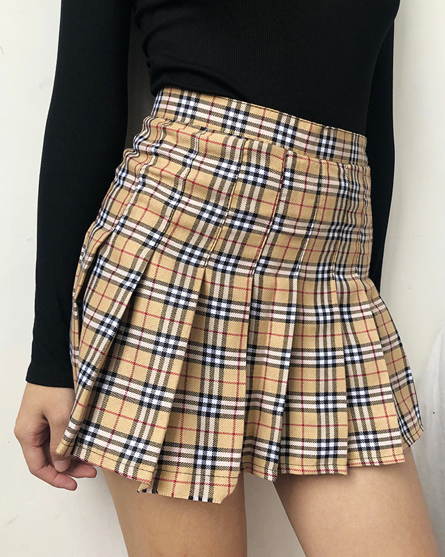 Plaid Tennis Skirt - MAGIC PERIOD