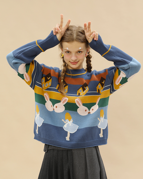 Alice in Wonderland Sweater - MAGIC PERIOD