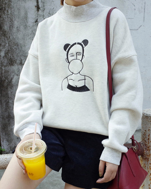 Gum Girl Pullover - MAGIC PERIOD