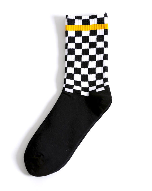 Checker Socks - MAGIC PERIOD