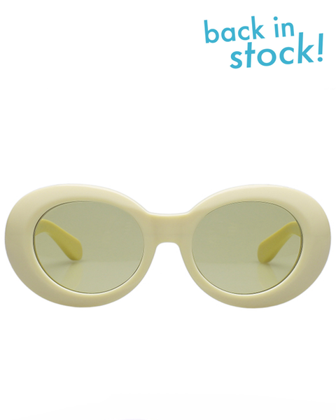 Diminish Cream Hemp Sunglasses - MAGIC PERIOD