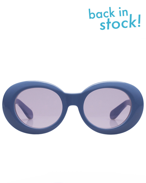Diminish Marble Blue Pink Sunglasses - MAGIC PERIOD