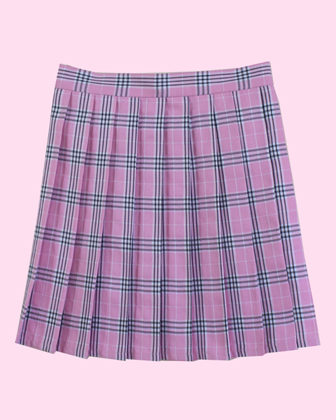 XS-4XL Plaid Tennis Skirts
